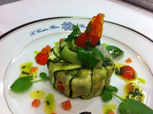 Tian Provencale - roasted veges encased in zucchini
