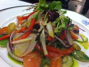 Chef's seasonal salad