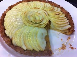 My tarte aux pommes