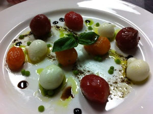 Tomato Mozzarella revisited
